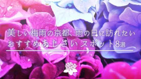 美しい梅雨の京都、雨の日に訪れたいおすすめあじさいスポット8選