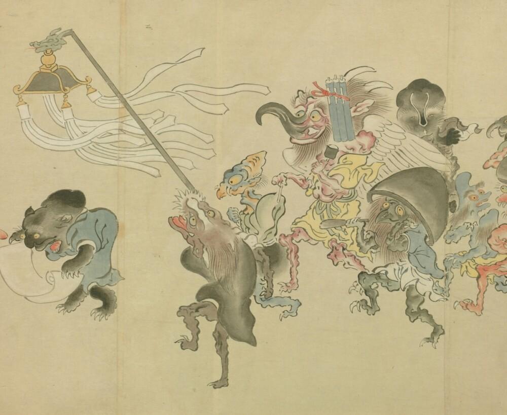 京都国際マンガミュージアム「荒俣宏館長と行く京都妖怪ツアー」レポート2019