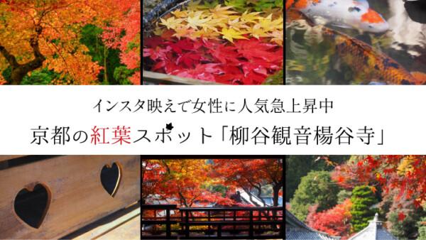 インスタ映えで女性に人気急上昇中な京都の紅葉スポット「柳谷観音楊谷寺」